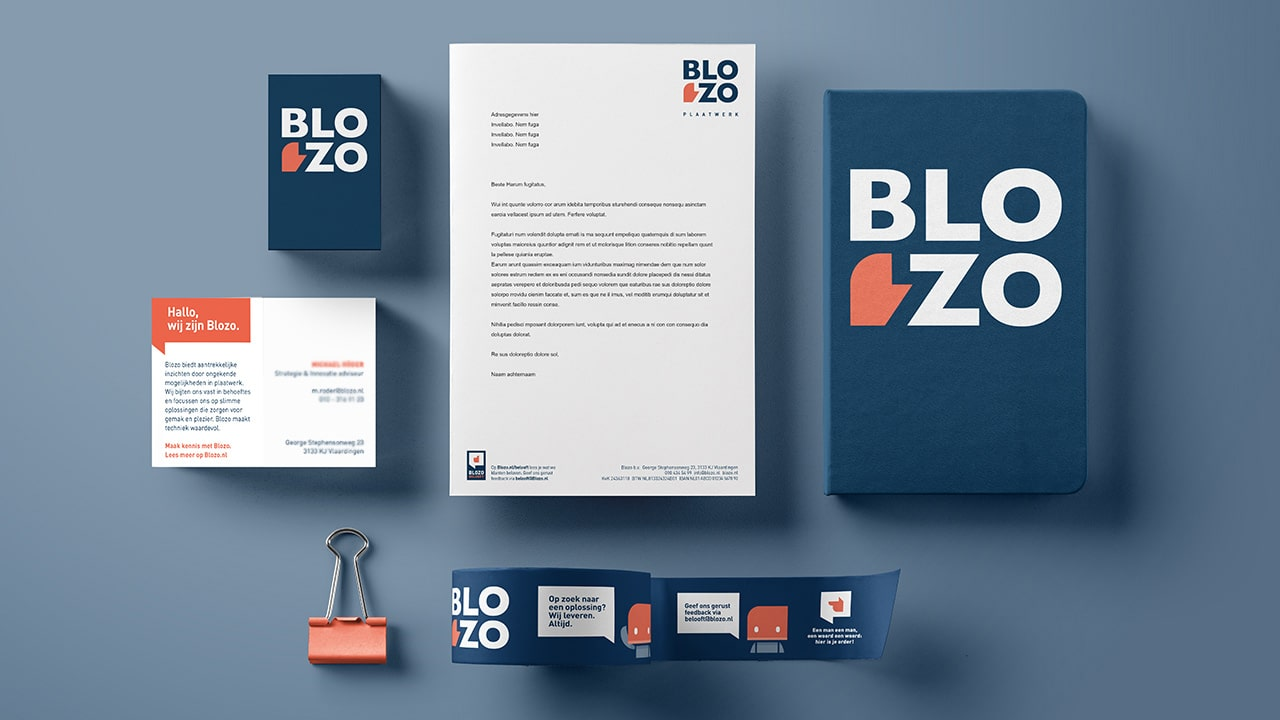 Blozo-Stationery
