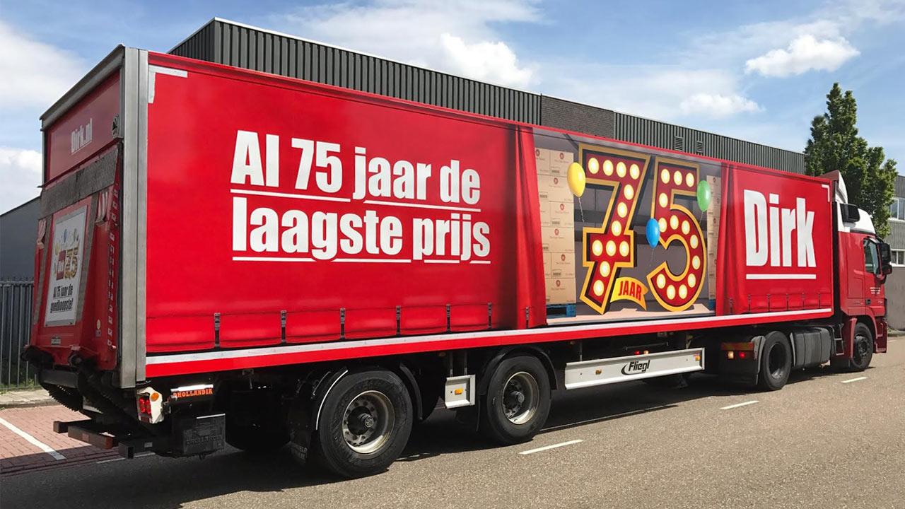 dirk-75-jaar-vrachtwagen