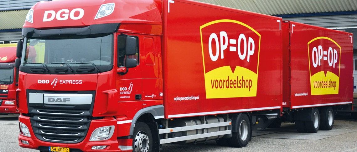 op-op-vrachtwagen