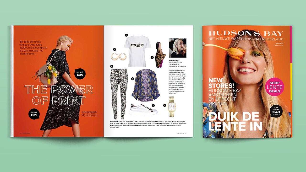 Shopping magazine Hudson's Bay